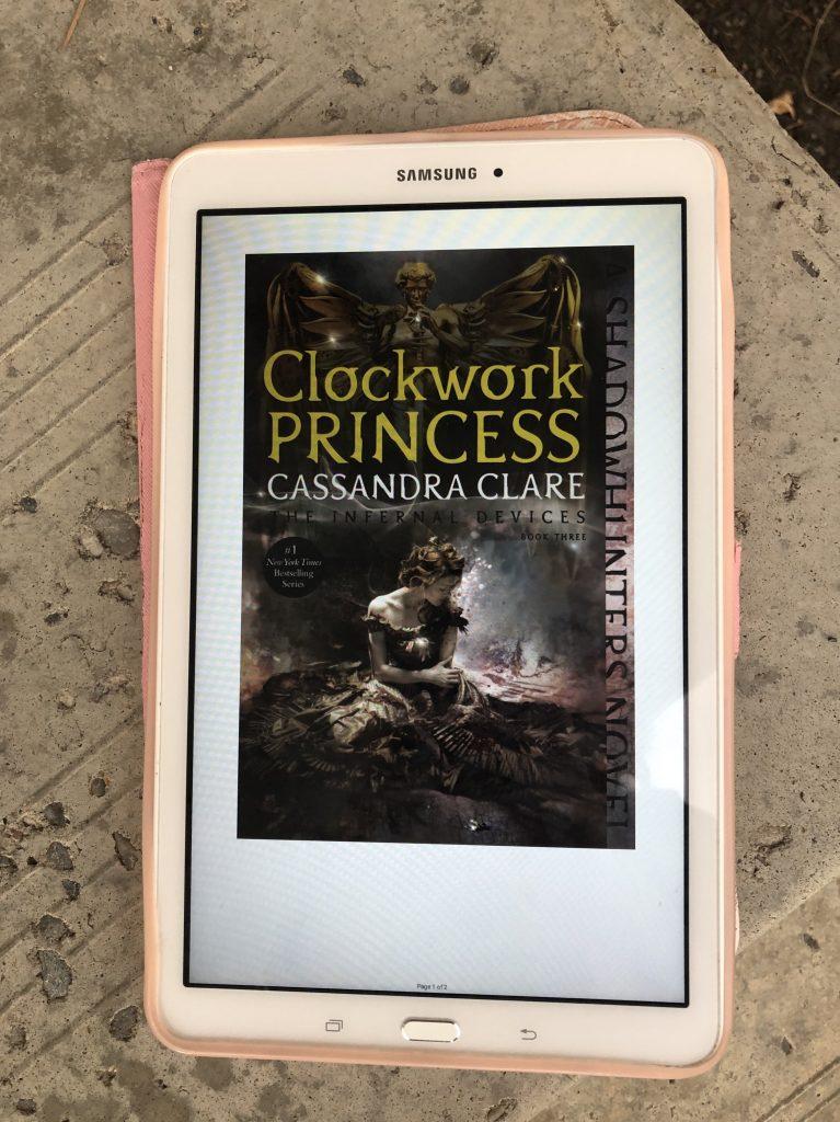 The Clockwork Princess by Cassandra Clare (book)