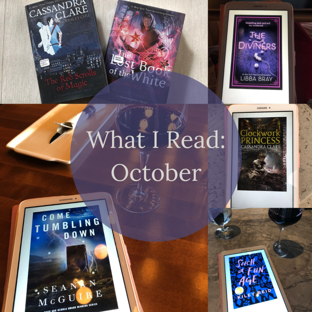 Collage of Books I Read in October