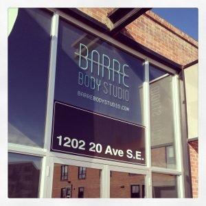 Outside of Barre Body Studio