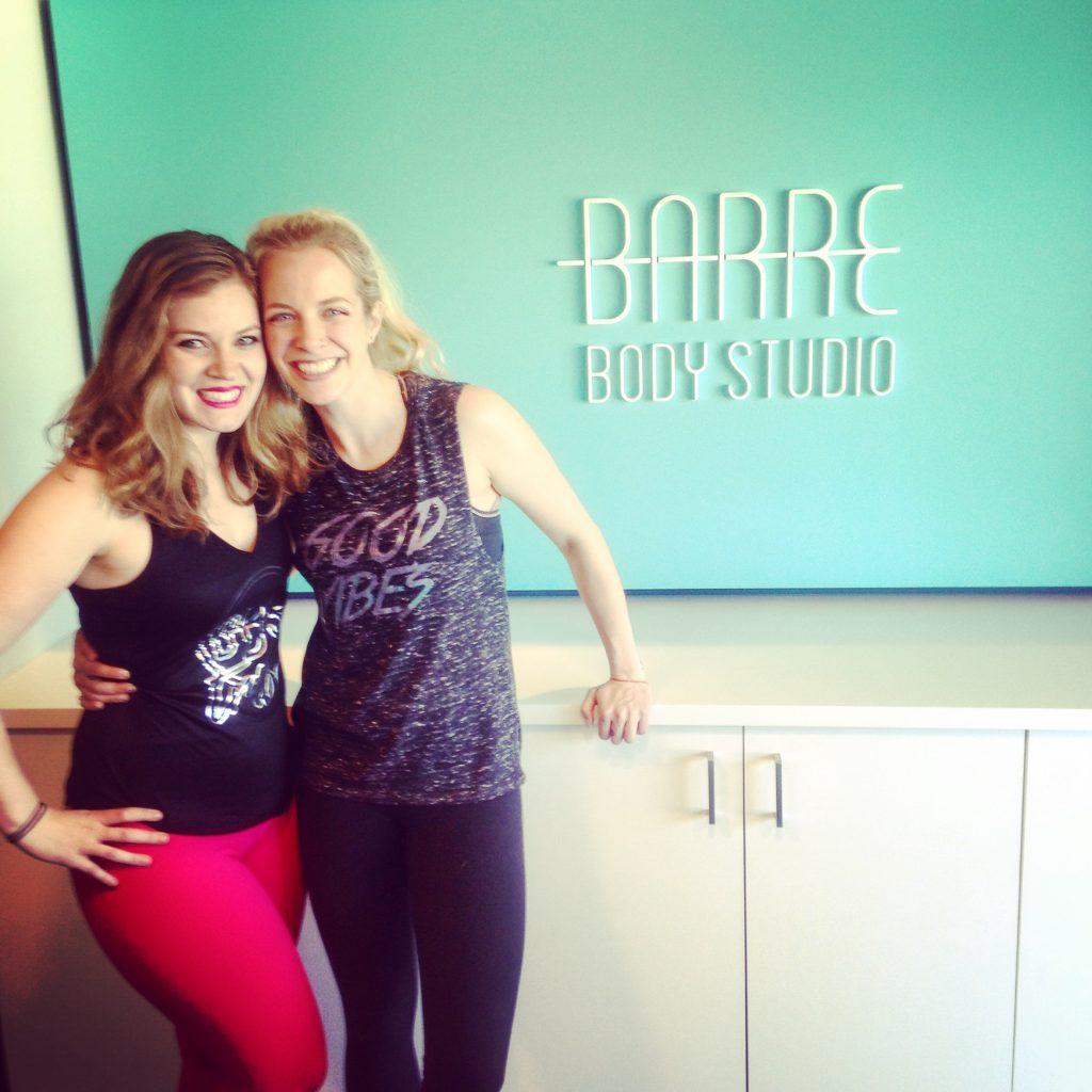 Erin and Rachel