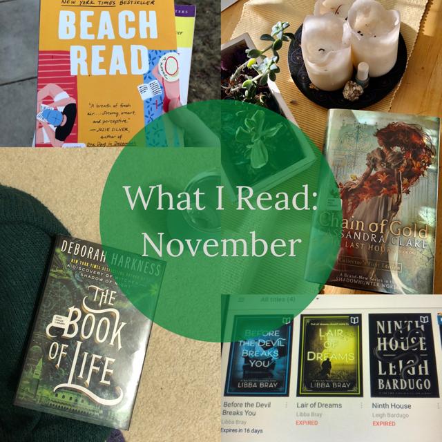 What I Read: November