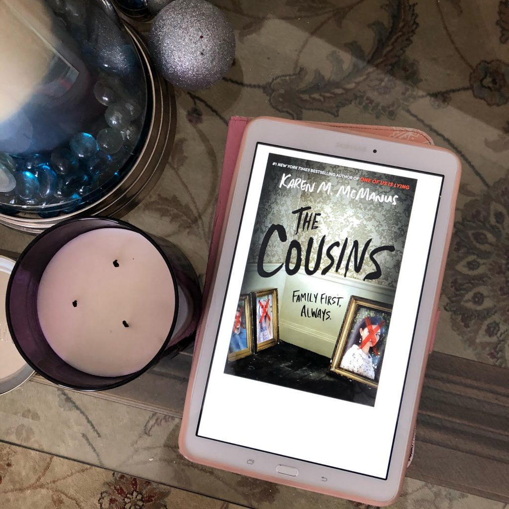 Favourite January Book I Read: The Cousins by Karen McManus