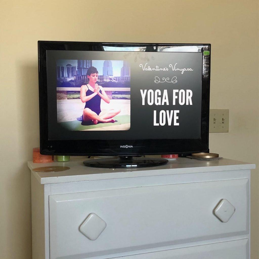 Solo Valentine's Day Yoga