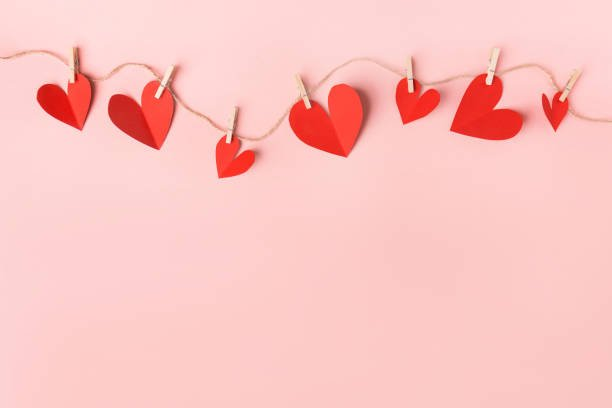 Solo Valentine's Day - stock image